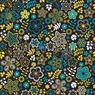 Little Flower Rhapsody Seamless Pattern