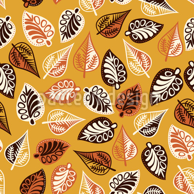 Budapest Leaves Pattern Design