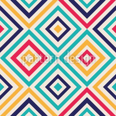 Geometrie Zum Quadrat Vektor Muster