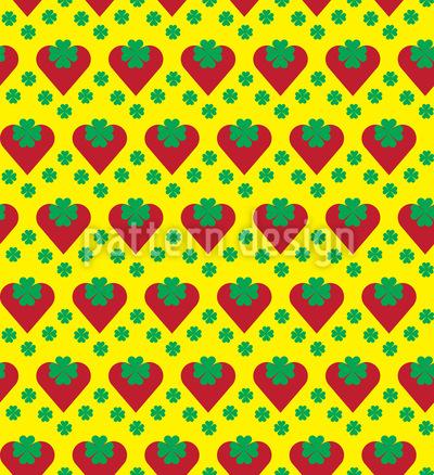 Herzige Erdbeeren Vektor Design