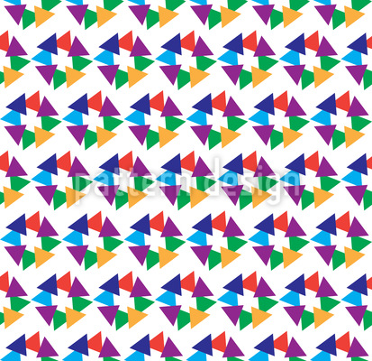 Dreieck Vereinigung Muster Design