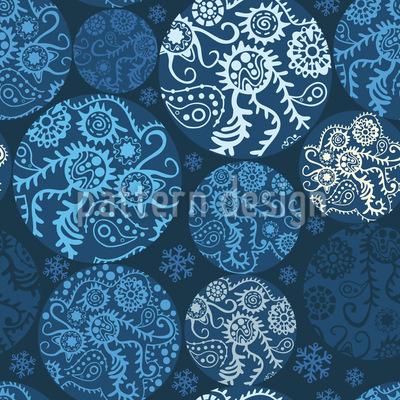Winter Weihnacht Patchwork Muster Design
