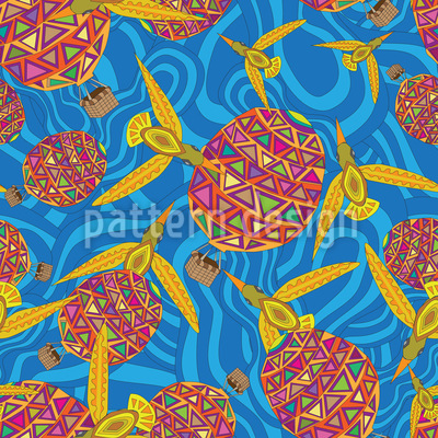 Faberge Adventures Pattern Design