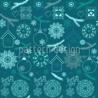 Zauberhaftes Weihnachten Designmuster