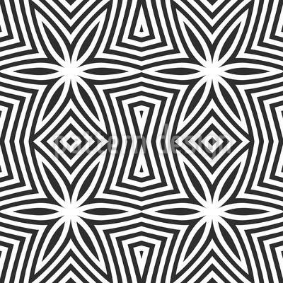 Zebra Sterne Nahtloses Vektor Muster