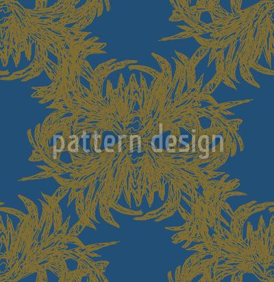 Algae Exquisite Vector Pattern