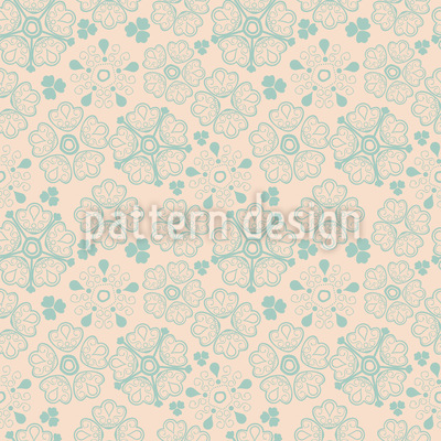 Floral Winter Luck Seamless Pattern