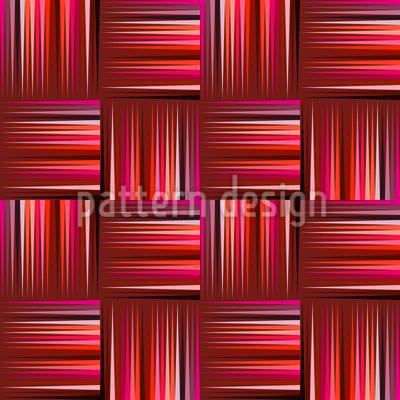 Delikates Flechtwerk Nahtloses Vektor Muster