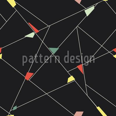 Balanceakt Der Geometrie Rapportmuster