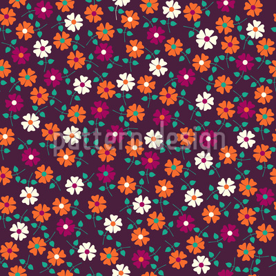 Flower Sonatina Seamless Pattern