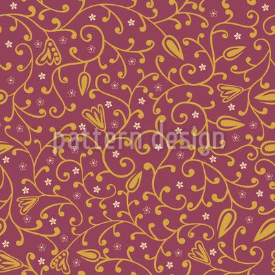Rapunzels Vintage Garden Design Pattern
