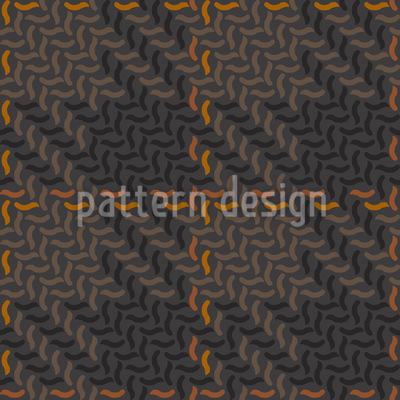 Autumn Check Patchwork Vector Pattern