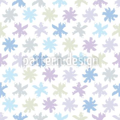Schnee Sternchen Vektor Muster