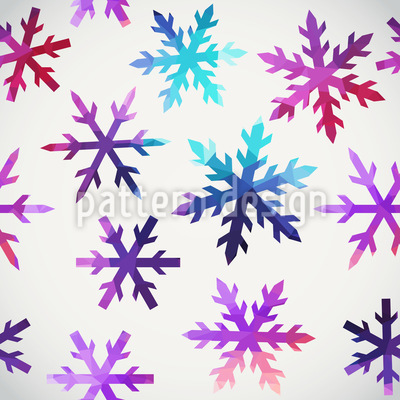 Ice Crystals Vector Design