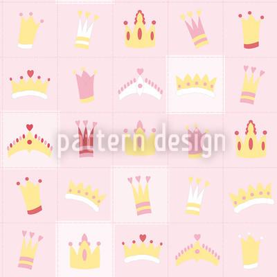 Royal Crowns Repeating Pattern