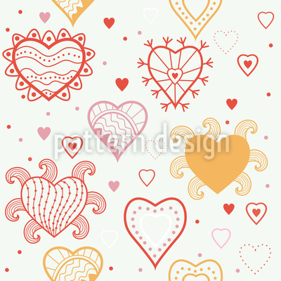 Herz Fantasie Vektor Design