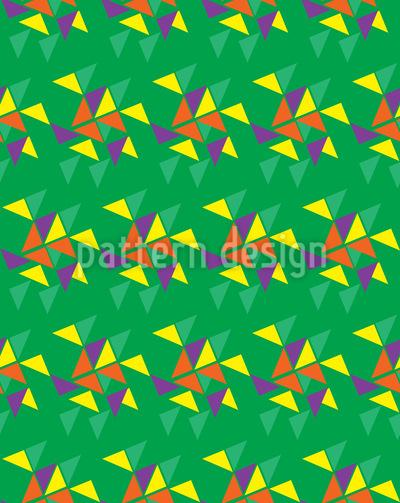 Wettlauf Der Dreiecke Musterdesign
