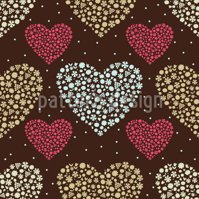 Heart Bouquets Vector Design