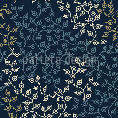 Graphical Branches Repeating Pattern