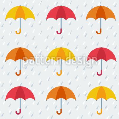 Les Parapluies Seamless Pattern