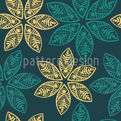 Samoa Floral Pattern Design
