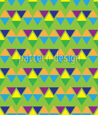 Aztec Trident Pattern Design