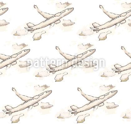 Freiflug Rapportiertes Design