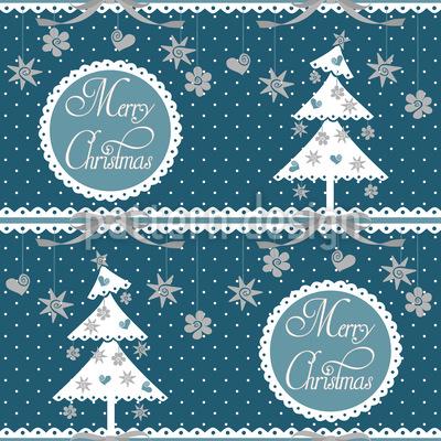 Kalte Weihnachten Designmuster