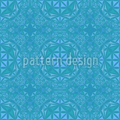 In The Ballroom Of The Ice Queen Vector Pattern