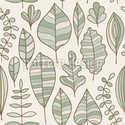 Foliage In Style Vector Ornament