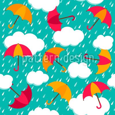 The Umbrellas Of Salzburg Pattern Design