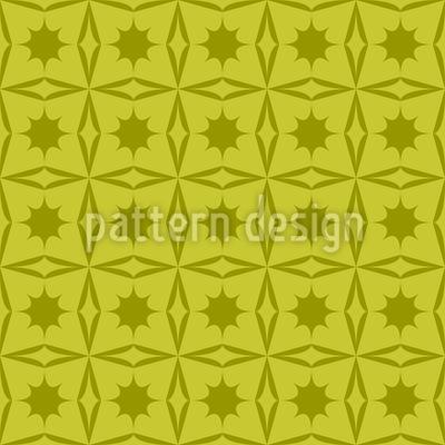 Holly Geometry Vector Ornament