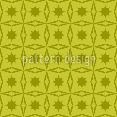 Stechpalmen Geometrie Vektor Ornament