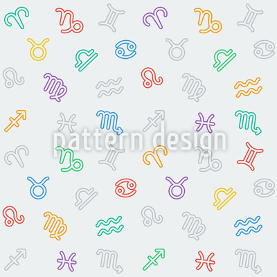Zodiac Signs Pattern Design