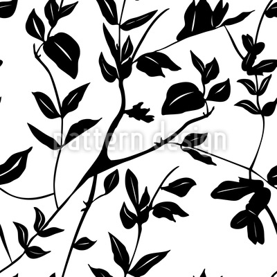 Leaves In The Shadow Vector Design