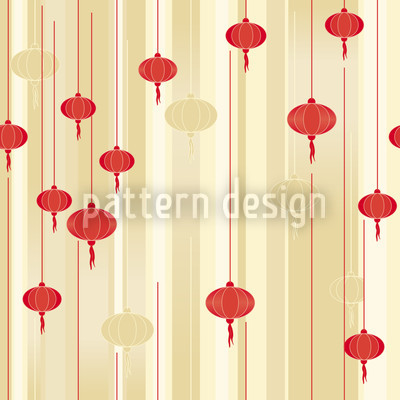 Lanterns In Light Pattern Design