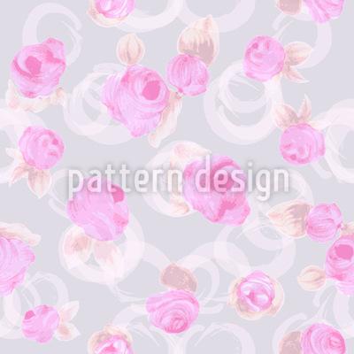Zarte Rosen Vektor Muster