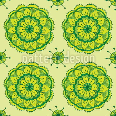 Fresh Lotus Repeating Pattern
