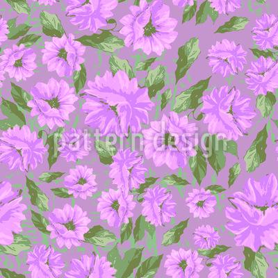 Emilys Blumen Melancholie Muster Design