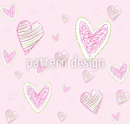 Wir Malen Herzen Designmuster