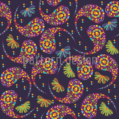 Paisley Party Pattern Design