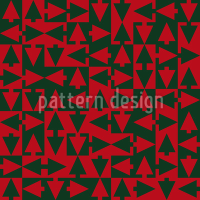 Christmas Tree Trails Design Pattern