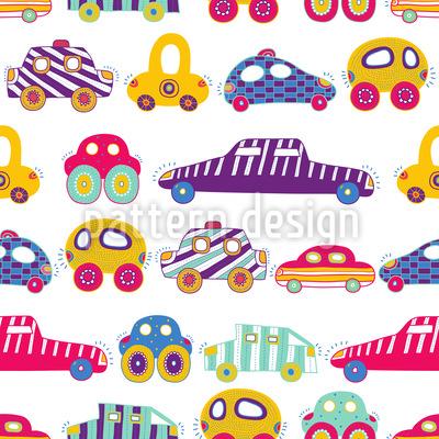 Auto Kolonnen Muster Design