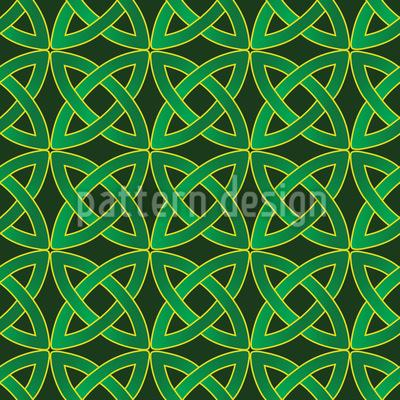Keltische Kreise Rapportmuster