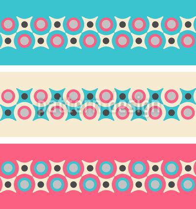 Retro Borders Pattern Design