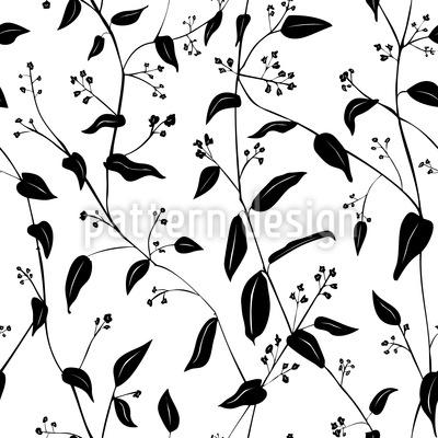 Die Blumen Denken An Den Frühling Nahtloses Muster