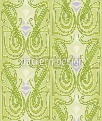 Undine Grün Muster Design