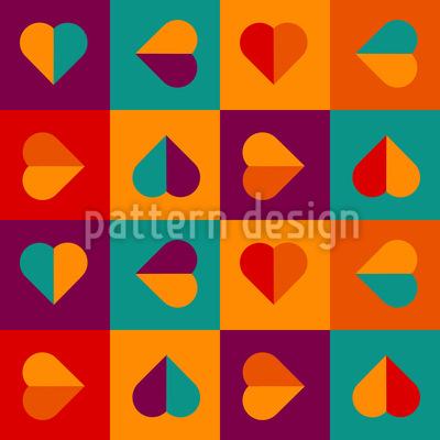 I Want Hearts Vector Design