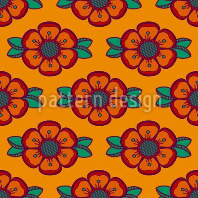 Roses Of Krumlov Repeat Pattern
