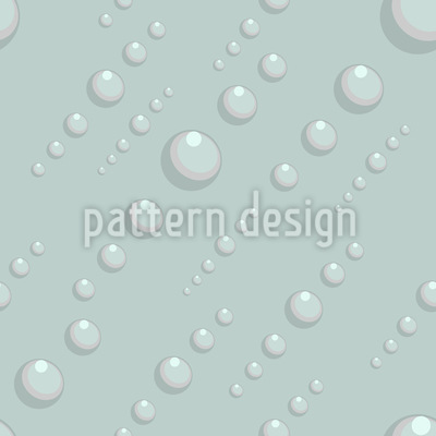 Water Drops Vector Pattern